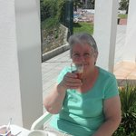 Nain and her Sangria