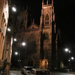  The Minster by night