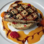  Sturgeon with wild Salmon Berries