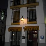 hostal in the night
