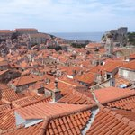  Up the dubrovnik city walls