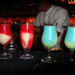 Miami vice and blue bay specials
