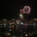  Exceptional view from our room. Weekend darling Harbour fireworks