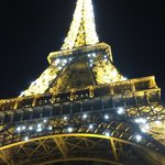 Eiffel tower at 10pm