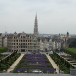 View from Mont des Arts