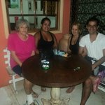  D miriam, eu e minha familia...