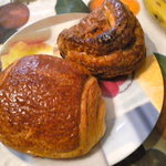  Pain au Chocolat and Chausson au Pomme