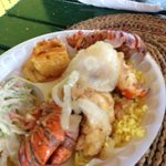  Lobster for lunch $22