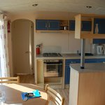Kitchen.leading to double bedroom & shower room.