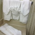  I love the towels shape!