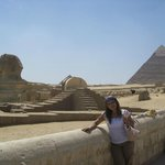  Con la Esfinge en Giza