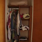  closet space in one room