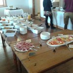  Amazing buffet breakfast!