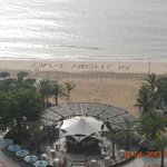  Morning message on the beach