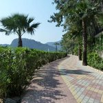  Pathway from Icmeler to Marmaris.
