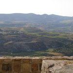  view from the top of Kerak Castle