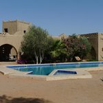  Great to have a  pool before and after the desert. The pool is right on the desert which is fabu