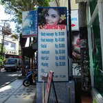 highly recommend this massage place along Jl. Legian, not far from hotel