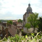  Vue de la Tour Csar, Provins