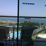 Sea view from room