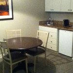 Kitchenette sitting area