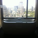  view and bath just amazing