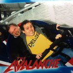 The MiniMen on Avalanche Blackpool Pleasure Beach