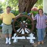 The Captain's Wheel at the Captain's Inn