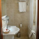 Nice and clean en suite bathroom