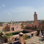  la terrasse- certainement l&#39;atout de ce Riad
