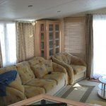 Lounge area in Caravan