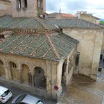  View of Iglesia de San Martin from hotel room window