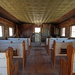  Inside the chapel, Castle Dome ghost town