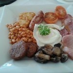 Beachfield Hotel breakfast - Penzance