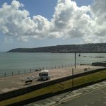 Beachfield Hotel room view - Penzance