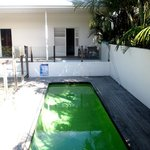  My room with plunge pool