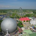 Breathtaking view over Europa-Park