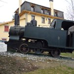  Old tramway engine at Station nearby