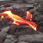 Lava tours so close