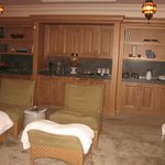  The lounge at the spa