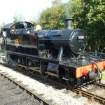  GWR &#39;Small Prairie&#39; Engine No. 5526 at Totnes Riverside station