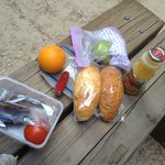Breakfast taken as picnic