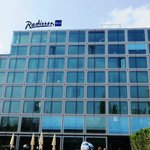 Radisson Blu outside view