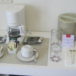 Coffee station in room 3517 - Oceanfront Building #3