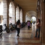 scooter parking in Padua