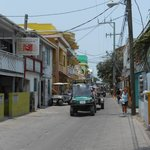  Main street San Pedro - transportation is golf carts