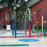 the splash pad