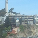  view from our room Coit Tower