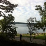  View from one of our rooms - Be sure to ask for a lake view.