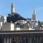 Coit and Trans America  Building